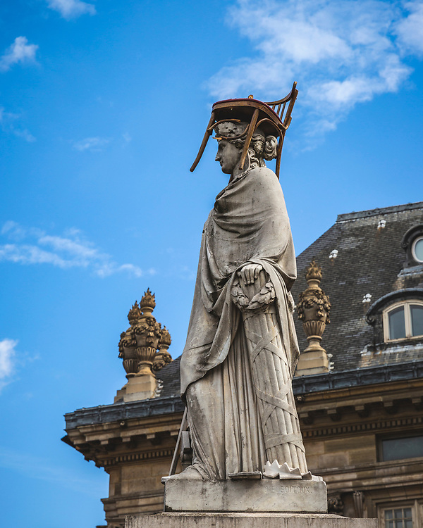 La Republique statue by Jean-Francois Soitoux