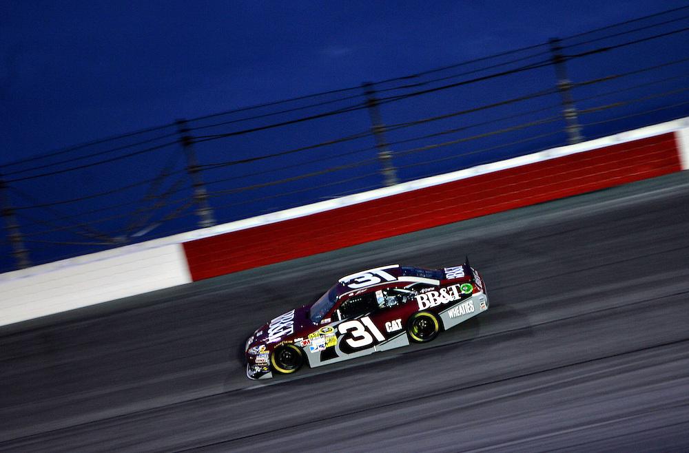 May 12, 2012; Darlington, SC, USA; NASCAR Sprint Cup driver Jeff Burton (31) during the Southern 500 at Darlington Raceway. Mandatory Credit: Peter Casey-US PRESSWIRE.