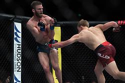 March 16, 2019 - London, United Kingdom - Arnold Allen beats Jordan Rinaldi by unanimous decision during UFC Fight Night 147 at the London O2 Arena, Greenwich on Saturday 16th March 2019. (Credit Image: © Mi News/NurPhoto via ZUMA Press)