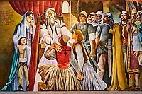 Albanie, province de Durres, ville historique de Kruja, musée national // Albania, Durres province, old town of Kruja, National museum