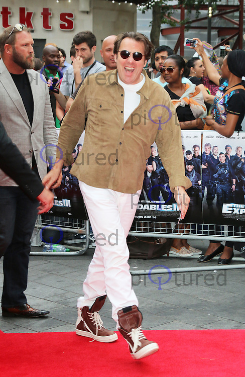 Jonathan Ross, The Expendables 3 - World Film Premiere, Leicester Square, London UK, 04 August 2013, Photo by Richard Goldschmidt