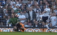 Photo: Olly Greenwood.<br />Tottenham Hotspur v Reading. The Barclays Premiership. 01/04/2007. Spurs Robbie Keane scores a penalty