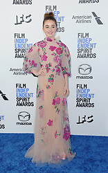 Kaitlyn Dever at the 35th Annual Film Independent Spirit Awards held at the Santa Monica Beach in Santa Monica, USA on February 8, 2020.
