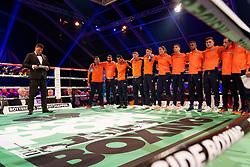 17-11-2019 NED: World Port Boxing Netherlands - Kazakhstan, Rotterdam<br /> 3rd World Port Boxing in Excelsior Stadion Rotterdam / Team NL boxing