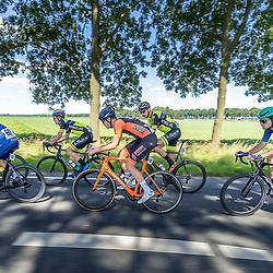 BIDDINGHUIZEN (NED) WIELRENNEN<br /> Zuiderzeeronde eerste wedstrijd Nederlandse Loterij  Clubcompetitie 2021