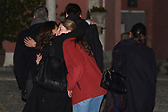 Laura Ponte attends Princess PIlar Borbon funeral chapel  installed in the Gomez-Acebo house on January 8, 2020 in Madrid, Spain