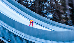 27.01.2017, Casino Arena, Seefeld, AUT, FIS Weltcup Nordische Kombination, Seefeld Triple, Schisprung, im Bild Eric Frenzel (GER) // Eric Frenzel of Germany in action during his Competition Jump of Skijumping of the FIS Nordic Combined World Cup Seefeld Triple at the Casino Arena in Seefeld, Austria on 2017/01/27. EXPA Pictures © 2017, PhotoCredit: EXPA/ JFK