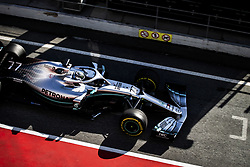 February 18, 2019 - Barcelona, Spain - 77 BOTTAS Valtteri (fin), Mercedes AMG F1 GP W10 Hybrid EQ Power+, action during Formula 1 winter tests from February 18 to 21, 2019 at Barcelona, Spain - Photo Motorsports: FIA Formula One World Championship 2019, Test in Barcelona, (Credit Image: © Hoch Zwei via ZUMA Wire)