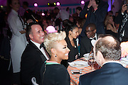 DAVID FURNISH;  EMILIE SANDE; KEVIN SPACEY;, Grey Goose Winter Ball to benefit the Elton John Aids Foundation. Battersea Power Station. London. 10 November 2012.