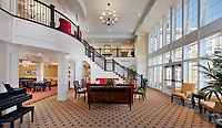 Interior Image of Senior Living Apartments Brightview at Great Falls by Jeffrey Sauers of Commercial Photographics, Architectural Photo Artistry in Washington DC, Virginia to Florida and PA to New England