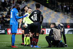 during football match between NS Mura and Rennes (FRA) in group stage of UEFA Europa Conference League 2021/22, on 20 of October, 2021 in Ljudski Vrt, Maribor, Slovenia. Photo by Blaž Weindorfer / Sportida