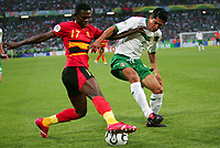 Fotball<br /> VM 2006<br /> Foto: Dppi/Digitalsport<br /> NORWAY ONLY<br /> <br /> FOOTBALL - WORLD CUP 2006 - STAGE  - GROUP D - MEXICO v ANGOLA - 16/06/2006 - PAULO ZE KALANGA (ANG) / RICARDO OSORIO (MEX)