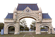 CHICAGO, HISTORIC ARCH. Chgo Stock Yard Gates