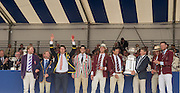 Henley on Thames. United Kingdom.     Finals Day. Grand Challenge Cup, Hollandia, Roeiclub. NED M8+. Sunday. 03.07. 2016 Henley Royal Regatta, Henley Reach.   [Mandatory Credit. Intersport Images]