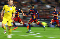 Neymar of FC Barcelona during the UEFA Champions League Group E football match between FC Barcelona and Bate Borisov on November 4, 2015 at Camp Nou stadium in Barcelona, Spain. <br /> Photo Manuel Blondeau/AOP.Press/DPPI