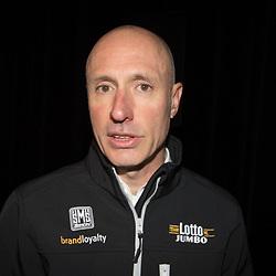09-01-2015: Wielrennen: Perspresentatie Lotto Jumbo:: Rosmalen<br /> Nico Verhoeven ploegleider Lotto-Lumbo