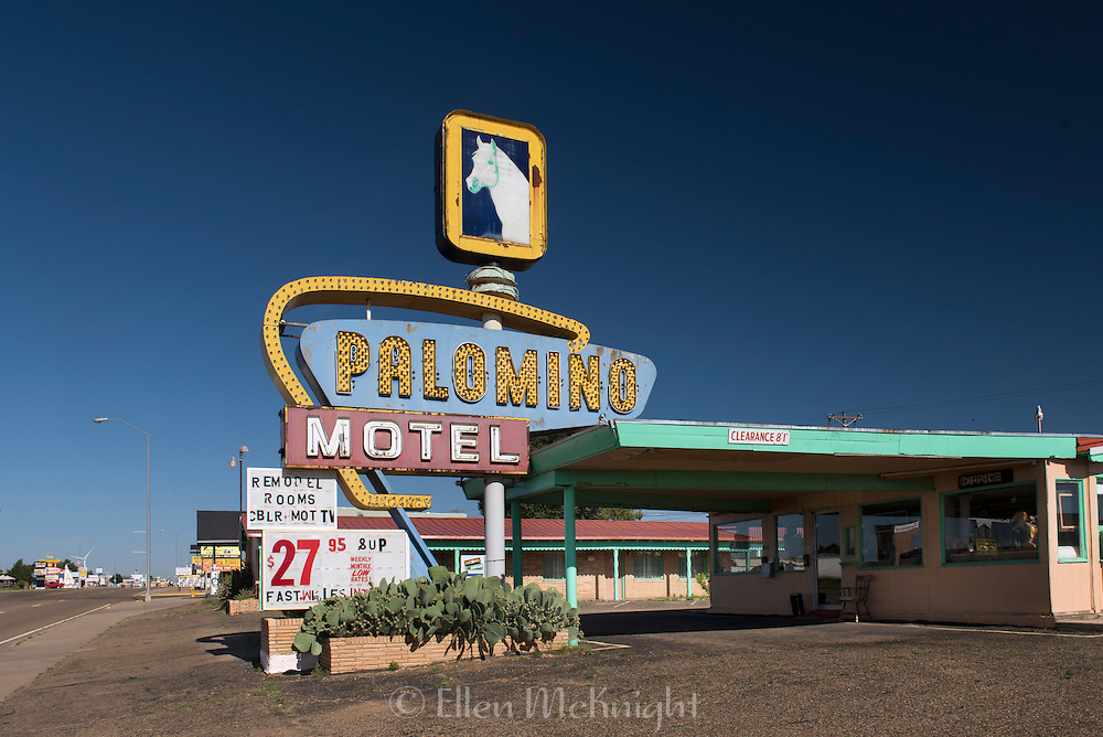 Palomino Motel on Route 66 in New Mexico