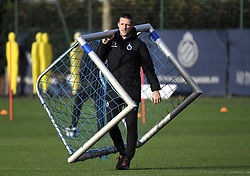 December 10, 2018 - Bruges, Belgique - BRUGGE, DECEMBER 10 : Timmy Simons assistant coach of Club Brugge pictured during practice session the day before the UEFA Champions League group A match between Club Brugge KV and Atletico Madrid on December 10, 2018 in Brugge, 10/12/2018 (Credit Image: © Panoramic via ZUMA Press)
