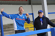 Rochdale fans pre-match during the EFL Sky Bet League 1 match between Rochdale and Gillingham at Spotland, Rochdale, England on 23 September 2017. Photo by Daniel Youngs.