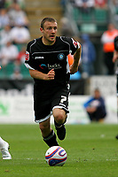 Football<br /> Coca Cola Football League One<br /> Brighton and Hove Albion vs Wycombe Wanderers at The Withdean Stadium, Brighton<br /> Wycombe's Ian Westlake<br /> 05/09/2009<br /> Credit Colorsport / Shaun Boggust