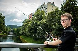 Novomasnik Janko  Potisek, portret, on June 16, 2020 in Ljubljana, Slovenia. Photo by Vid Ponikvar / Sportida