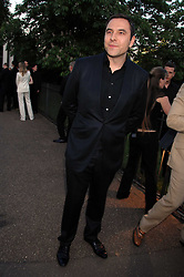DAVID WALLIAMS at the annual Serpentine Gallery Summer Party in association with Swarovski held at the gallery, Kensington Gardens, London on 11th July 2007.<br /><br />NON EXCLUSIVE - WORLD RIGHTS