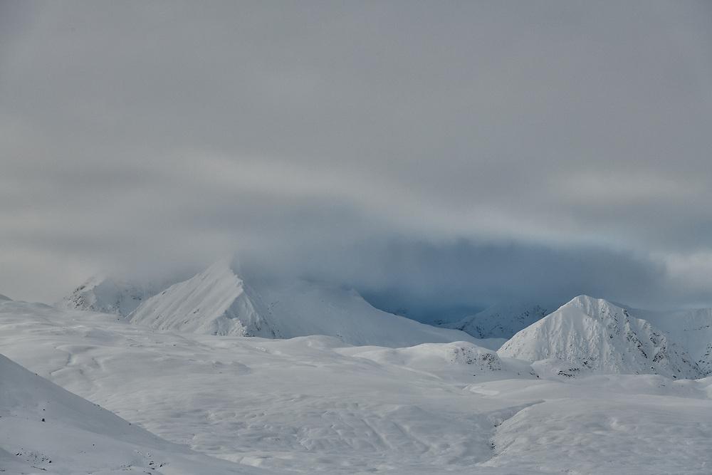 St Elias Mountains, Yukon, Canada, mountains, winter, snow