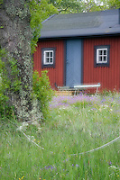 Holiday house on the Rödlöga island. Stockholm Archipelago, Sweden