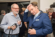 TOM WOOD, CHRIS SHAW, Opening of the Martin Parr Foundation party,  Martin Parr Foundation, 316 Paintworks, Bristol, BS4 3 EH  20 October 2017