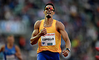 Friidrett , 9. juni 2016 , Diamond League , Bislett Games<br /> Athletics , <br /> Yasmani Copello , TUR ,  winner 400 m h