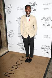 © Licensed to London News Pictures. 04/11/2014, UK. Tinie Tempah, Harper's Bazaar Women of the Year Awards, Claridge's, London UK, 04 November 2014. Photo credit : Richard Goldschmidt/Piqtured/LNP
