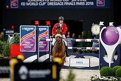 Madden Beezie, USA, Breitling<br /> LONGINES FEI World Cup™ Finals Paris 2018<br /> © Hippo Foto - Stefan Lafrentz<br /> 13/04/2018