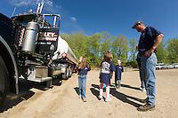 Elm Street School Field Trip to Foley Oil in Belmont.  Karen Bobotas/ for the Laconia Daily Sun