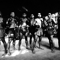USE ARROWS ← → on your keyboard to navigate this slide-show<br /> <br /> Yangon, Myanmar May 2006<br /> Boxing fighters of the KLN boxing school. <br /> Photo: Ezequiel Scagnetti