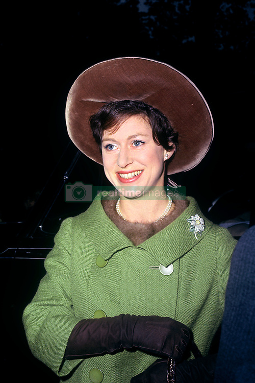 Princess Margaret at the opening of the 'Word blind' centre in Bloomsbury, London.