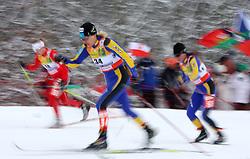 Svetlana Malahova of Kazakhstan at Ladies` Pursuit 7,5 km Classic + 7,5 km Free at FIS Nordic World Ski Championships Liberec 2008, on February 21, 2009, in Vestec, Liberec, Czech Republic. (Photo by Vid Ponikvar / Sportida)