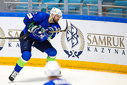 Andrej Hebar of Slovenia during ice hockey match between Slovenia and Lithuania at IIHF World Championship DIV. I Group A Kazakhstan 2019, on May 5, 2019 in Barys Arena, Nur-Sultan, Kazakhstan. Photo by Matic Klansek Velej / Sportida