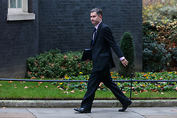 London, UK. 6th December, 2018. David Gauke MP, Lord Chancellor and Secretary of State for Justice, arrives at 10 Downing Street for a special Cabinet meeting called to discuss the latest developments regarding Brexit.
