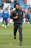 Fleetwood Town's Fitness coach Youl Mawene<br /> <br /> Photographer Stephen White/CameraSport<br /> <br /> Football - The Football League Sky Bet League One - Gillingham v Fleetwood Town -  Friday 3rd April 2015 - MEMS Priestfield Stadium - Gillingham<br /> <br /> © CameraSport - 43 Linden Ave. Countesthorpe. Leicester. England. LE8 5PG - Tel: +44 (0) 116 277 4147 - admin@camerasport.com - www.camerasport.com