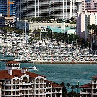 400 slip Miami Beach Marina, located at the southern tip of Miami Beach, also known as South Beach.