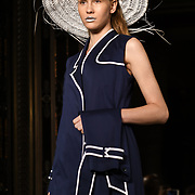 Designer Anissa Aida showcases is latest collection at Fashion Scout - SS19, London, UK