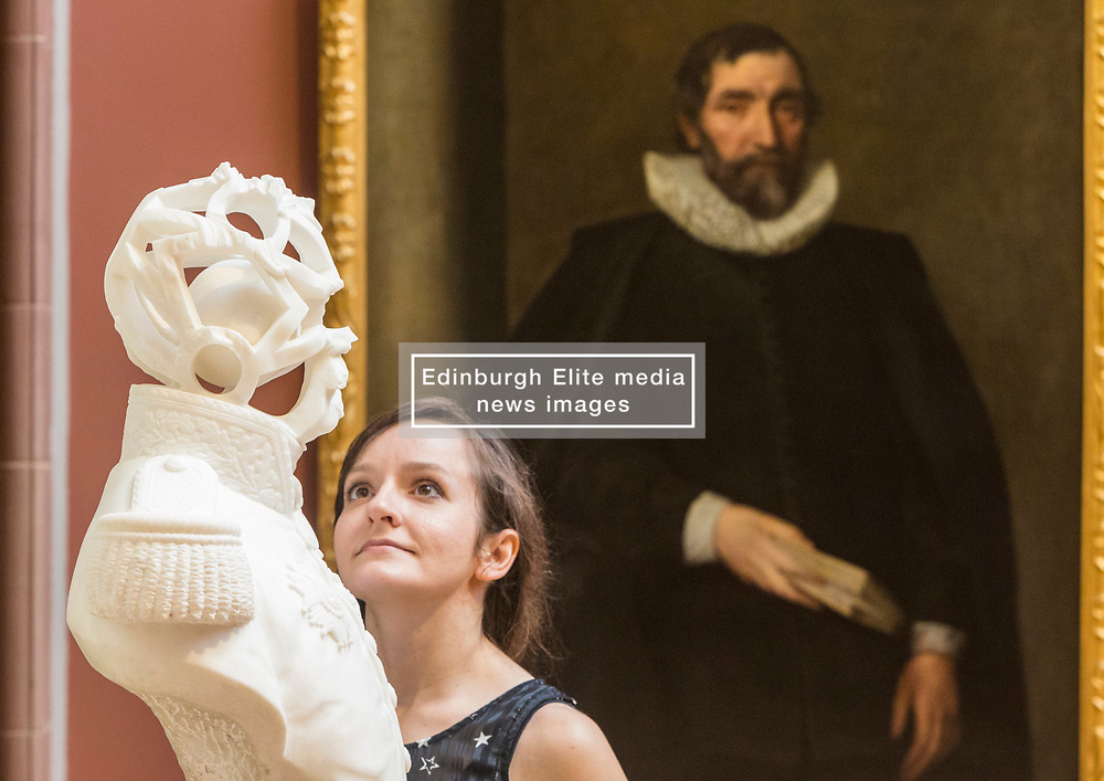 'Looking good: the male gaze from Van Dyck to Lucian Freud' showcases the evolution of men's fashion and masculine identity over 500 years.<br /> <br /> The exhibition at the Scottish National Portrait Gallery runs from 24 June to 1 October 2017 and looks at the evolution of men's fashion, masculine identity and the male self-image over the last 500 years.<br /> <br /> Pictured: Untitled by Jonathon Owen, 2013