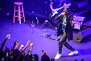WASHINGTON, D.C. - June 8th, 2014 - August Alsina performs at the Howard Theatre in Washington, D.C. Alsina's debut album, Testimony, was released in April and debuted at number two on the Billboard 200 album chart. (Photo by Kyle Gustafson / For The Washington Post)