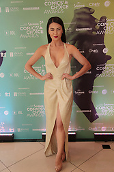 08/09/2018<br />Actress Lalla Hirayama is seen on the Yellow carpet arrivals at the 2018 Savanna Comics Choice Awards, LYRIC Theatre, Goldreef City, Johannesburg.<br />Picture: Nhlanhla Phillips/African News Agency/ANA
