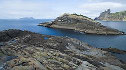 Bream Islands, off Oceans Beach.