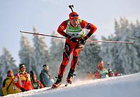Skiskyting<br /> IBU World Cup<br /> Oberhof Tyskland<br /> 07.01.2010<br /> Foto: imago/Digitalsport<br /> NORWAY ONLY<br /> <br /> IBU World Cup Biathlon Staffel - Männer / 4 x 7.5 km Tarjej Bø (NOR)