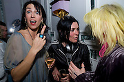 ANASTASIA WEBSTER; SUE WEBSTER; PAM HOGG, Launch of Stephanie Theobald's book' A Partial Indulgence'  drinks provided by Ruinart champage nd Snow Queen vodka. The Artesian at the Langham, 1c Portland Place, Regent Street, London W1
