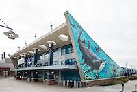 Newport Aquarium in Northern Kentucky at Newport on the Levee