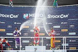 December 9, 2018 - Sao Paulo, Sao Paulo, Brazil - Nov, 2018 - Winners of the final stage of the 2018 championship of the Brazilian Stock Car, at Interlagos circuit, in Sao Paulo, Brazil. (Credit Image: © Paulo Lopes via ZUMA Wire) (Credit Image: © Paulo Lopes/ZUMA Wire)
