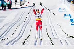 March 10, 2019 - Oslo, NORWAY - 190310  Therese Johaug of Norway celebrates during the final stretch in the women's 30 km classic technique mass start during the FIS World Cup on March 10, 2019 in Oslo..Photo: Jon Olav Nesvold / BILDBYRÃ…N / kod JE / 160424 (Credit Image: © Jon Olav Nesvold/Bildbyran via ZUMA Press)